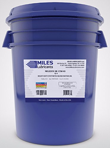 miles-lubricants-msf200103-syn-sb-15w40-api-cj-4-heavy-duty-synthetic-blend-motor-oil-5-gal-pail