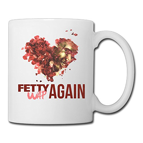 Fetty Wap Again LYRICS Hip-Hop Ceramic Cool Unique Coffee Tea Mugs Cups