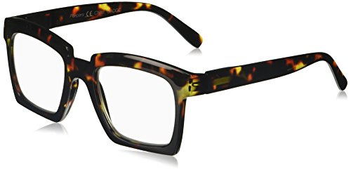 (Peepers Women's Standing Ovation 2395225 Square Reading Glasses, Tortoise, 2.25)