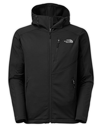North Face Tenacious Hybrid Hoodie Men's TNF Black/TNF Bl...