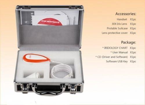 Carejoy NEW 5.0 MP USB Iriscope Iris Analyzer Iridology camera with pro Iris Software
