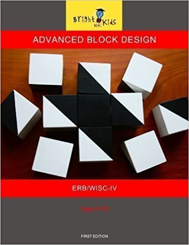 Advanced Block Design ERB WISC IV Bright Kids NYC