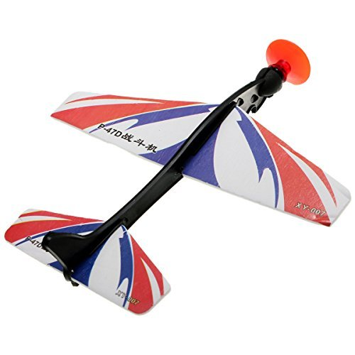 1 PCS Foam Elastic Powered Glider Plane Flying Model Aircraft Toy by Fantasy (Fantasy Plane)