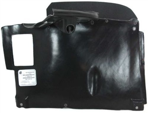 Crash Parts Plus Passenger Side Engine Splash Shield Guard for BMW 525i 540i BM1228104 530i