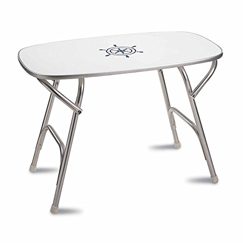 - FORMA MARINE Deck Table 20' x 35' x 24', Boat Table, Folding, Rectangular, Anodized, Aluminium, Model M250