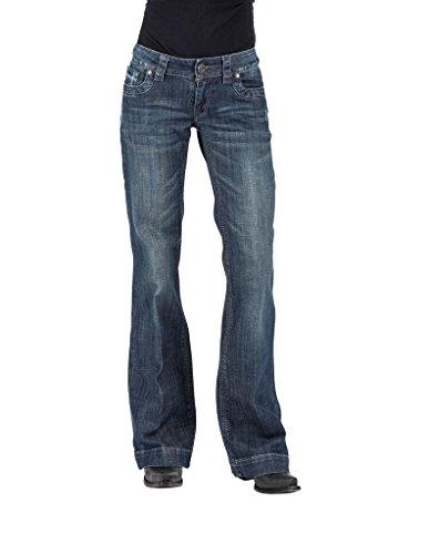 Stetson Women's Ladies Jean 214 Trouser Fit, Blue, 4 R Trouser Womens Jeans