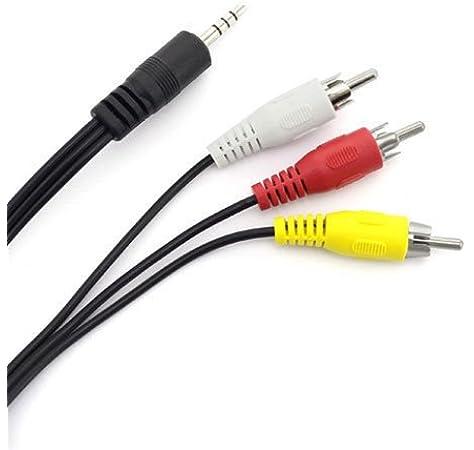 AV A//V TV Cable Cord Lead for Sony DCR-TRV240 DCR-TRV140 DCR-TRV130 DCR-TRV120 e Taelectric