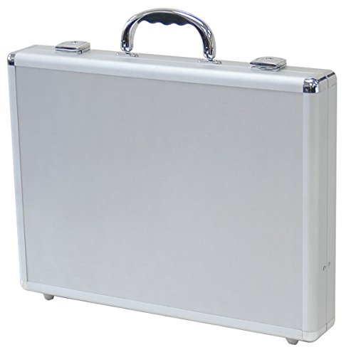 T.Z. Case Slim Line Packaging Hard-Saided Tool Case in Silver