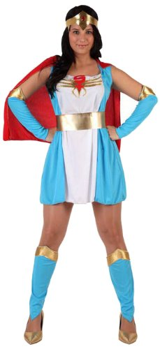 Womenu0027s Superhero Costume - One Size  sc 1 st  Amazon UK & Womenu0027s Superhero Costume - One Size: Amazon.co.uk: Toys u0026 Games