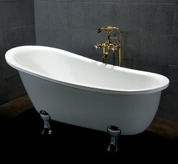 vasca da bagno con piedini quasar