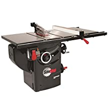 SawStop PCS31230-PFA30 3-HP Professional Cabinet Saw Assembly with 30-Inch Premium Fence System, Rails and Extension Table