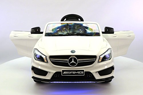 Why Choose 2017 Mercedes CLA AMG 12V Power Ride on Tot Car w/ Remote Control, Leather Seat, UV Light...