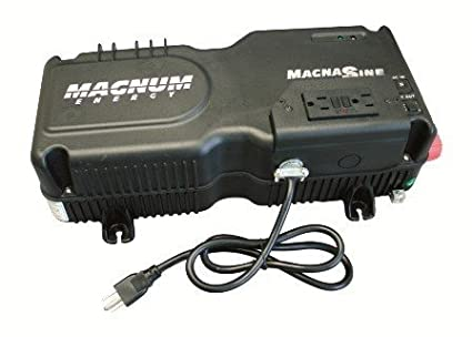 Amazon.com: Magnum MS2000 Inversor/Cargador de Energía ...