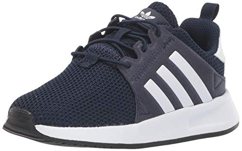 adidas Originals Baby X_PLR EL Sneaker, Collegiate Navy/FTWR White/core Black, 10K M US Infant