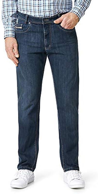 Walbusch T400 męskie jeansy sportowe, jednokolorowe: Walbusch: Odzież