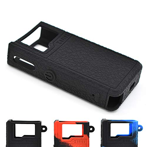 Cyameri Texture Case for Lost Vape Orion DNA 40W POD Box Mod Protective Silicone Skin Rubber Cover Sleeve Wrap Gel Shield Fits Lostvape (Black) ()