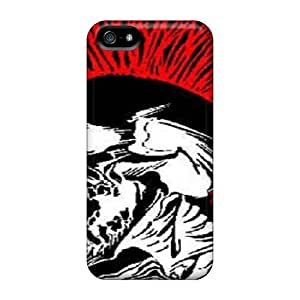 For NqGguBZ2822wMhgB Exploited Skull Protective Case Cover Skin/iphone 5/5s Case Cover