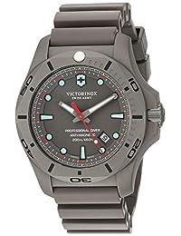 Victorinox Swiss Army I.N.O.X Reloj Pro Diver, Grey Dial, Grey Rubber Strap