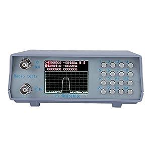 Zer one U/V UHF VHF Dual Band RF Spectrum Analyzer 136-173MHz/400-470MHz Radio Spectrum Analyzer with Tracking Source