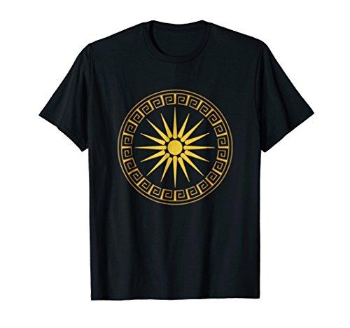 Vergina Sun Macedonian Star Argead Ancient Greek T-Shirt