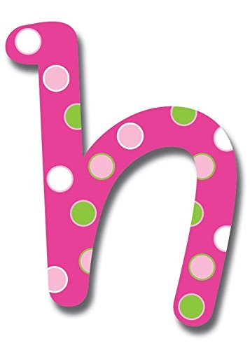 - 6-Inch Wall Hanging Wood Letter Sweet Pattern h