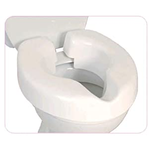 NRS Healthcare F25145 Novelle Portable Clip-On Raised Toilet Seat (Eligible for VAT Relief in The UK) 19