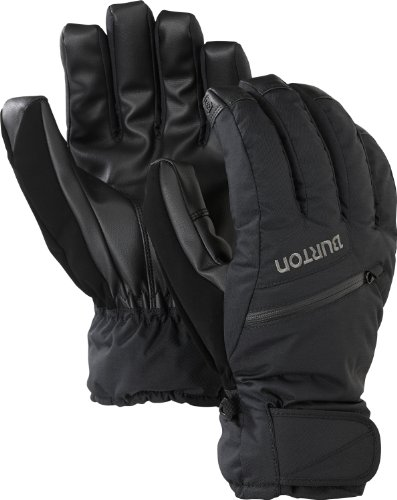 (Burton Men's Gore-Tex Under Glove, True Black,)