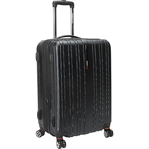 travelers-choice-tasmania-100-pure-polycarbonate-25-expandable-spinner-luggage-black
