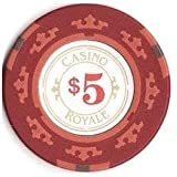 James Bond OO7 Casino Royale Poker Chip $5 (Skyfall)
