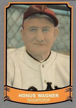 1989 Pacific Legends 211 Honus Wagner Baseball Card At Amazons