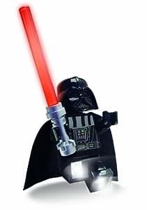 Lego Lights - Muñeco Lego de Darth Vader con sable de luz