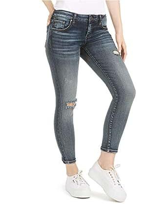 Kut from the Kloth Women's Donna Ankle Skinny Leg Denim Jeans (React W/Dark Stone Base, 10)