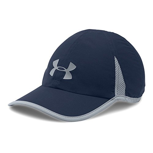 Under Armour Men's Shadow 4.0 Run Cap, Midnight Navy (410)/Reflective, One Size Shadow Baseball Cap Hat