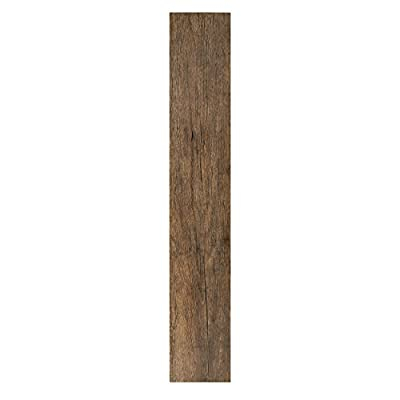 Achig|#Achim Home Furnishings VFP2.0ES10 Achim Home Furnishings Tivoli II Peel 'N' Stick Vinyl Floor Planks, Espresso, 10-Pack, 6-Inch x 36-Inch,