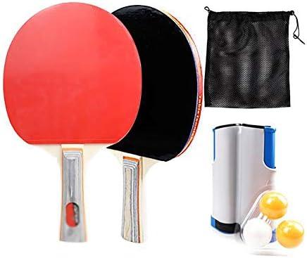 伸縮式卓球競技セット、大人の子供に適した卓球ラケットセットフィットネス卓球トレーニングスポーツ用品