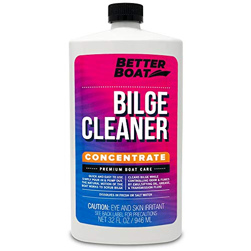 Premium Bilge Cleaner Concentrate for Boats Marine Boat Cleaner Soap Grease Oil Fuel and More