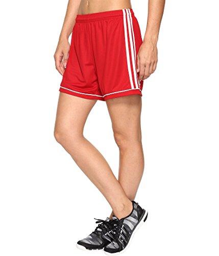 絶妙土砂降り納得させる(アディダス) adidas レディースショーツ?短パン Squadra 17 Shorts Power Red/White XS