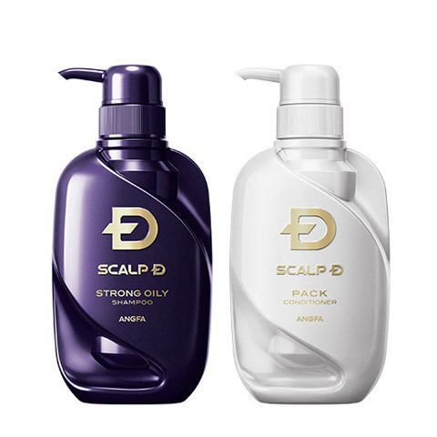 Set of 2 Scalp D Medical Hairgrowth Shampoos for Men 2016...