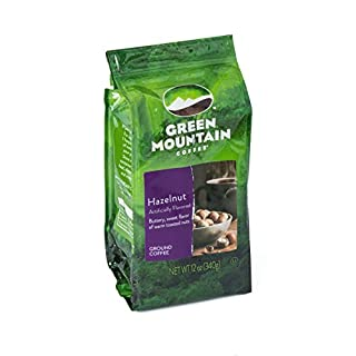 Green Mountain Coffee Roasters Hazelnut, Ground Coffee, Flavored Light Roast, Bagged 12 oz
