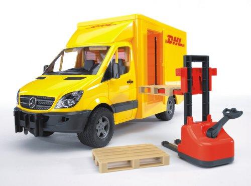 Bruder MB Sprinter DHL Truck with Hand Pallet Jack