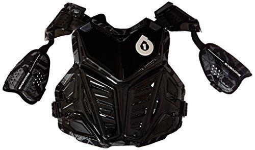 six six one Prodigy Roost Deflector (Black, (Sixsixone Body Armor)