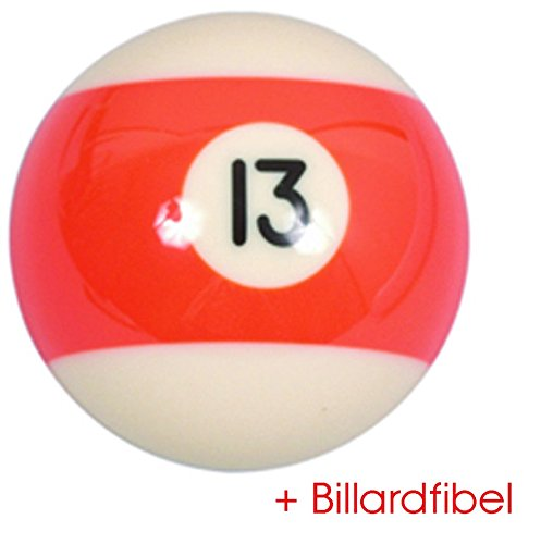 Bille de Billard Americain Pool no.13 diamètre 57, 2mm 2-1/4 2mm 2-1/4 VARIOUS