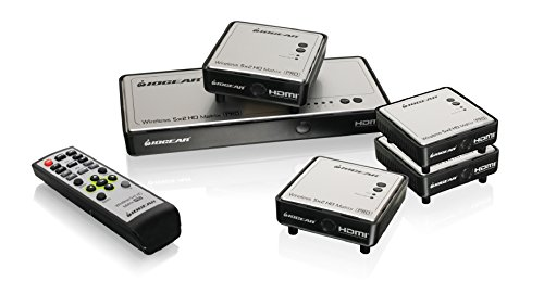 IOGEAR Wireless Additional Receivers GWHDMS52MBK4