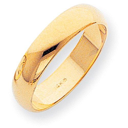 Womens 14k Yellow Gold Sandblast - 2