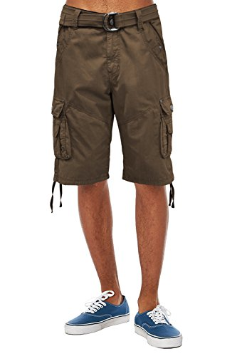 ETHANOL Super Poplin Belted Shorts product image