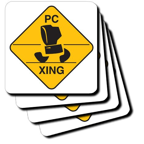 Computer Pc Xing Crossing Coasters