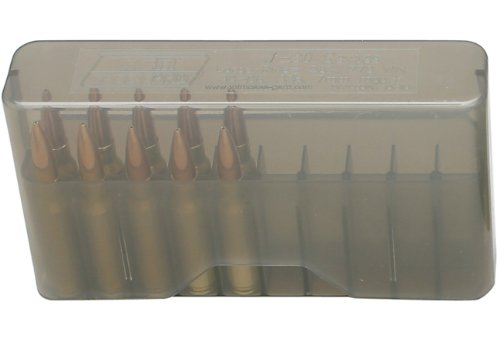 MTM 20 Round Slip-Top Magnum Rifle Ammo Box 300 Rem. ULTRA Mag. 300 Weatherby Mag. ()
