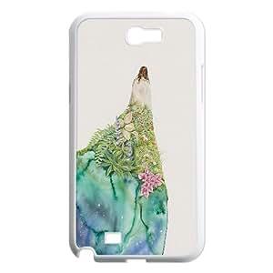 Custom Samsung Galaxy Note 2 N7100 Case, Zyoux DIY Cheap Samsung Galaxy Note 2 N7100 Cell Phone Case -Nature Illustrations