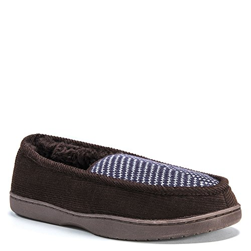 Slipper LUKS Navy MUK Men's Henry Dark Brown gBxgwUpn