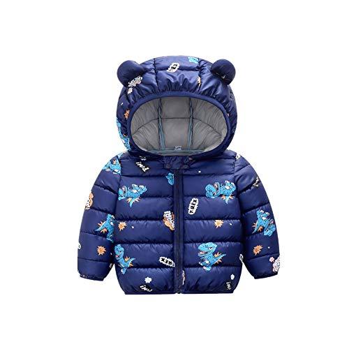 Ouduo Kids Winter Jas Hooded Puffer Down Baby Jongens Meisjes Licht Jas Sneeuwpak Warm Winddicht Gewatteerde Jas Katoen…